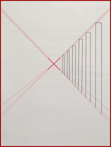 الخطوة 2 رسم منظور بسيط ثلاثي الأبعاد Draw Perspective