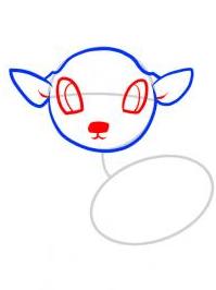 رسم الغزالة كالمحترفين للأطفال