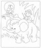كتب تلوين للاطفال للطباعة pdf
