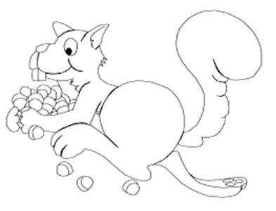 رسومات اطفال سهلة وبسيطة للطباعة