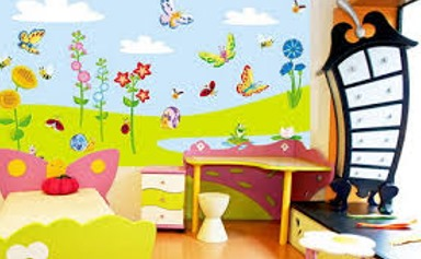 رسومات حوائط غرف أطفال 2020 صور مودرن