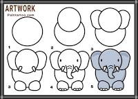 افكار رسومات للاطفال بسيطة