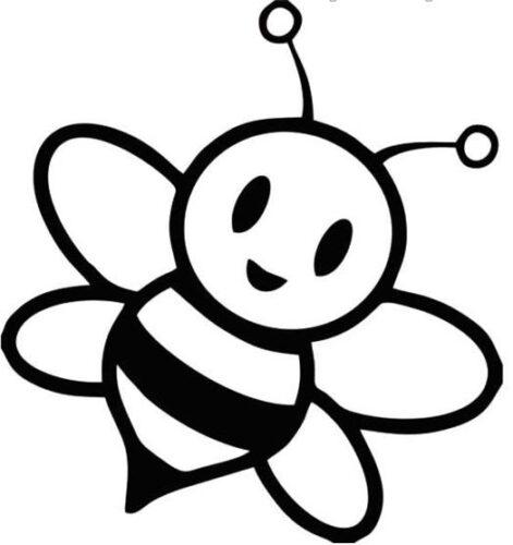 صور رسومات اطفال سهلة نحلة