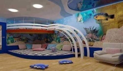 رسومات غرف اطفال بسيطة