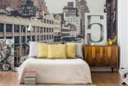 تصميمات ودهانات لغرف النوم بأشكال جميلة
