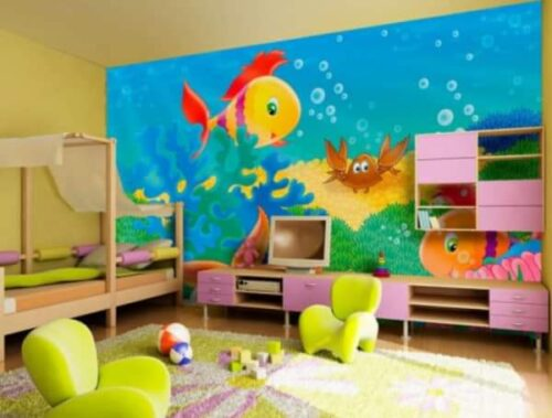 رسومات غرف اطفال 2019