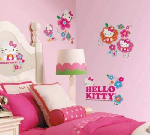 رسومات غرف أطفال بسيطة للبنات