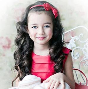 خلفيات اطفال بنات جميلة بغمازات