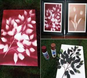 افكار لوحات فنية بسيطة وسهلة
