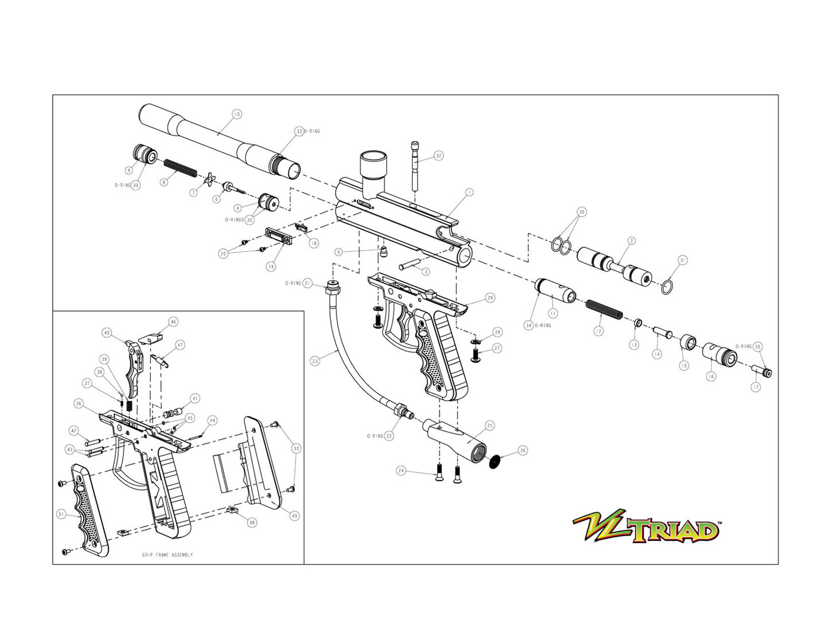 Gun Parts Diagram Gun Free Engine Image For User Manual