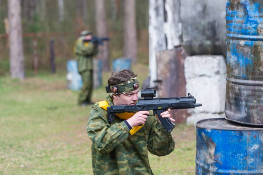 Types of Paintball Fields