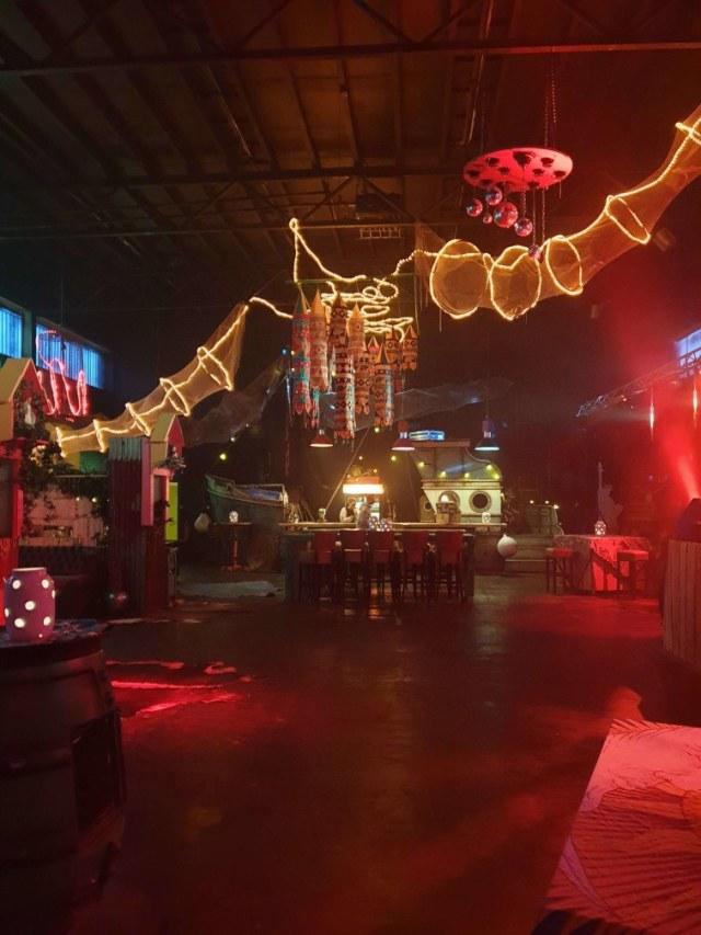 Party venue lights
