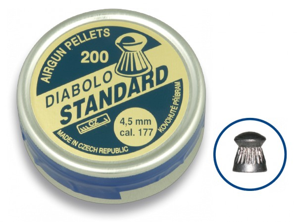 Balines DIABOLO STANDARD 4.5mm