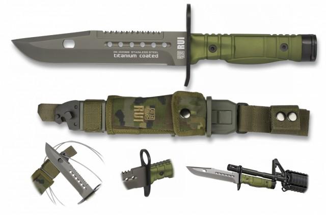 CUCHILLO RUI VERDE bayoneta