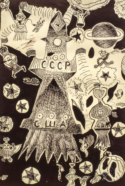 Image of space fantasy during Soviet era