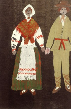 Image of Russian peasant couple