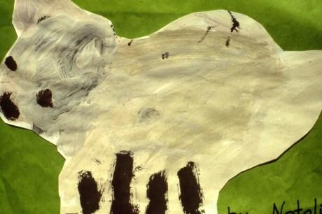 Drawing of a lamb