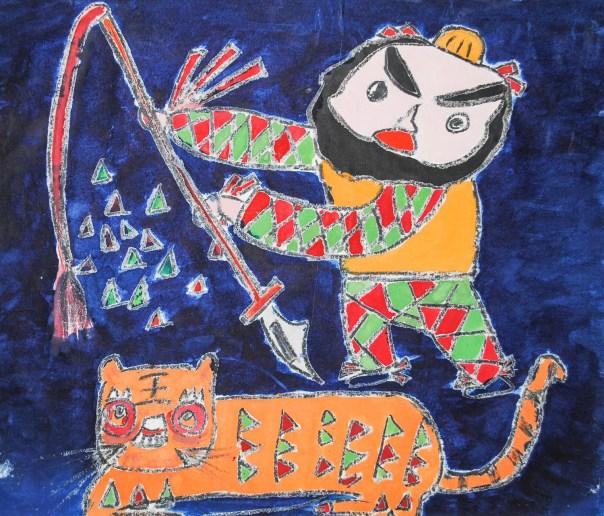 Wu Song Killing the Tiger