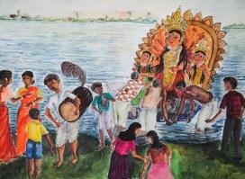 Final Destination of Goddess Durga