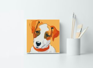 Puppy Dog Childrens Painting Kit