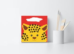 Tiger Childrens Painting Kit