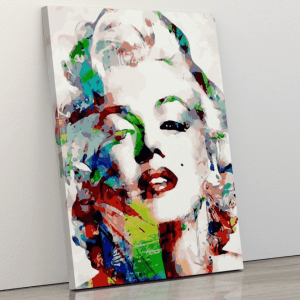 Abstract Marilyn Monroe