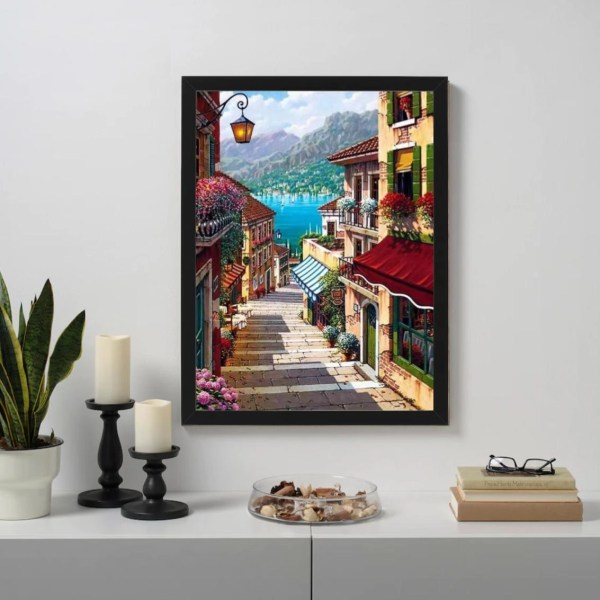 Lake Como Paint By Numbers