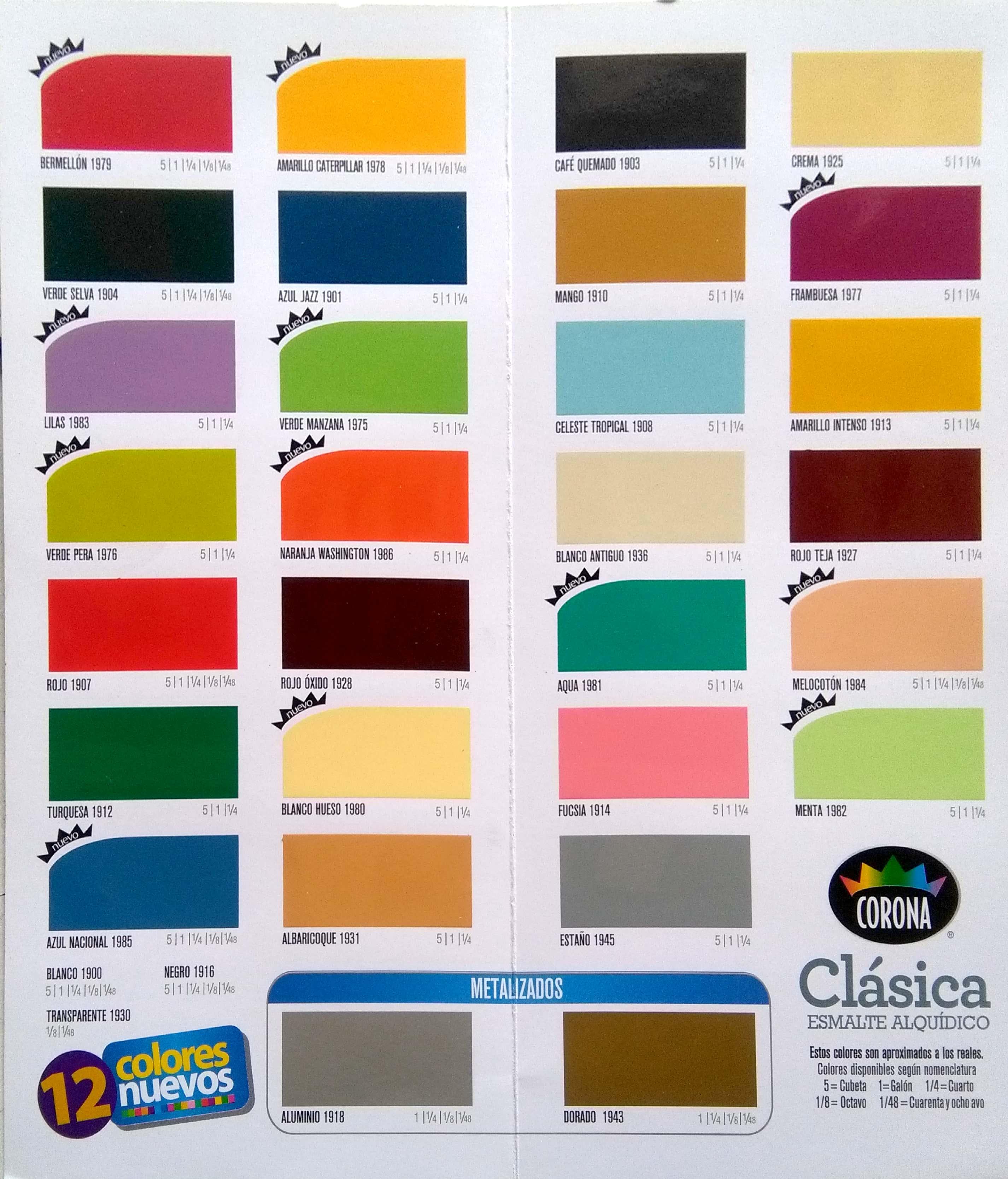 Catalogo de colores comex - Catalogo pinturas bruguer ...