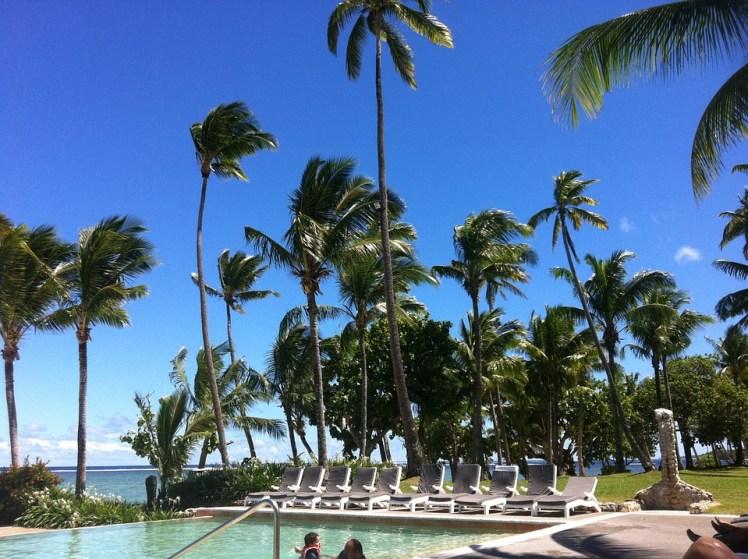Fiji Palm Trees Resort