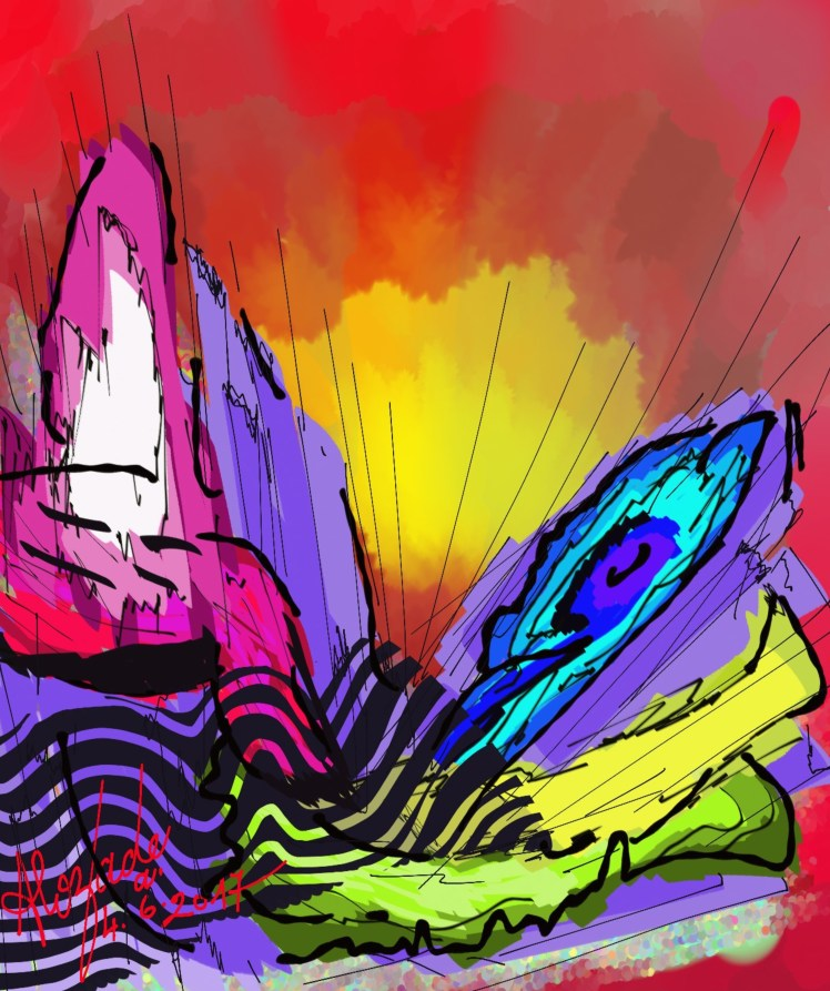 My 74th_Colored energies