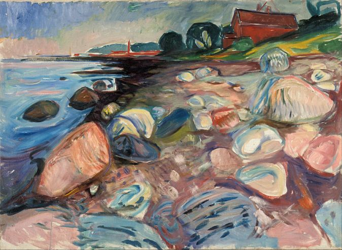 Edvard_Munch_-_Shore_with_Red_House_-_Google_Art_Project