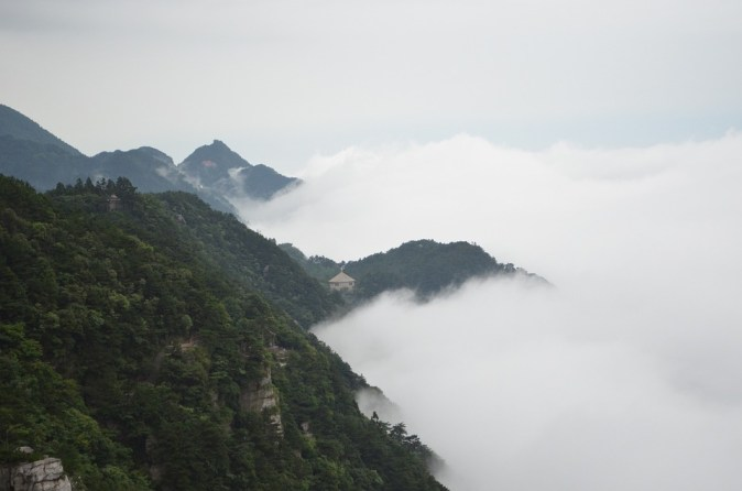 Landscape Cloud Lushan The Rich Brocade Valley Ink