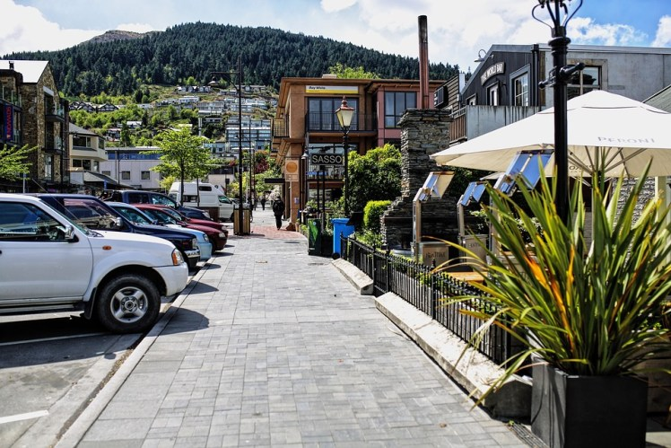 New Zealand Queenstown New Zealand Small Town
