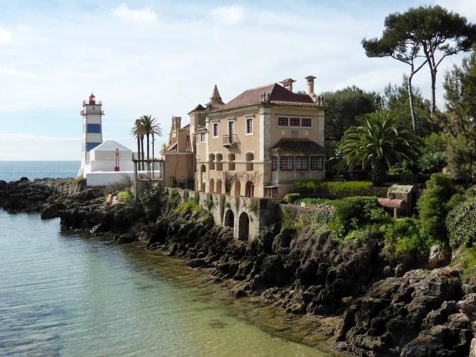 Cascais Portugal Lighthouse Coast