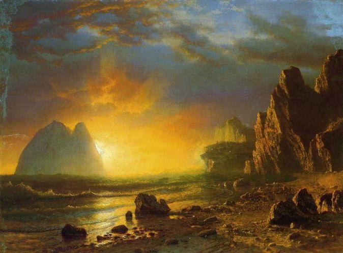 800px-Bierstadt_Albert_Sunset_on_the_Coast