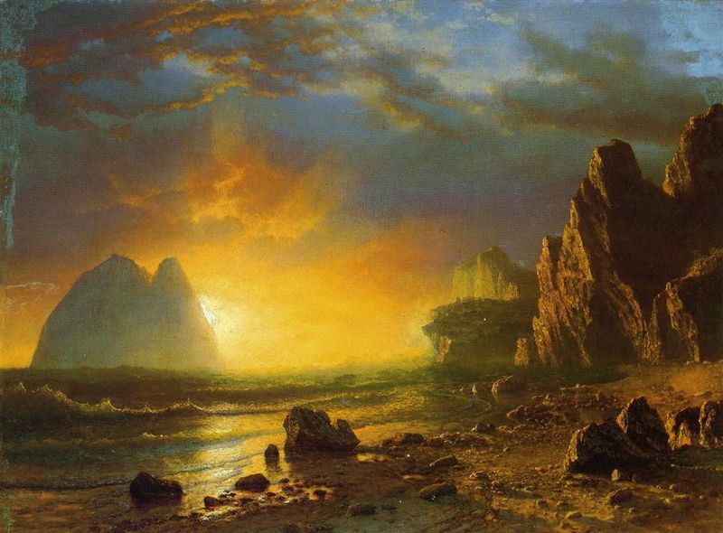 800px-Bierstadt_Albert_Sunset_on_the_Coast