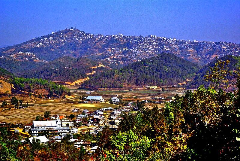 Champhai,_Mizoram,_from_south,_with_Zotlang_in_the_foreground