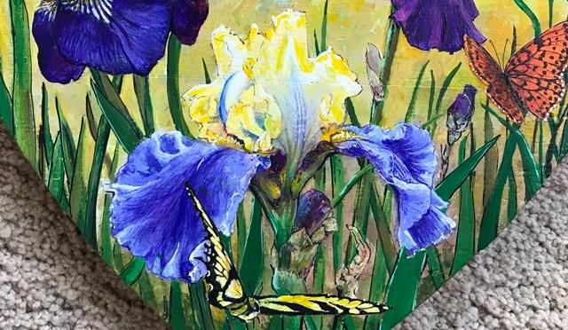 Irises Heart