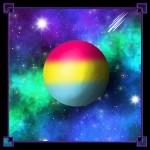 LGBTQIA+ Moon Pansexual