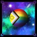 LGBTQIA+ Moon Progress Rainbow