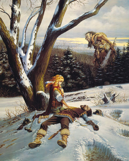 Avaline the Life Giver Artwork by Larry Elmore