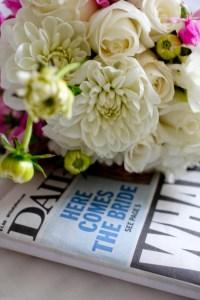 Love this unique bouquet shot