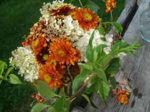 Rustic Bridal Bouquet detail