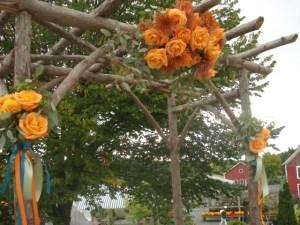 Decorated Arbor