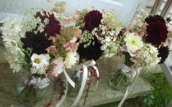 All the Ladies bouquets