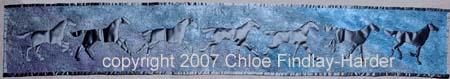 dusk original art quilt by chloe findlay-harder