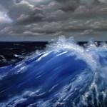 Волна, 100х50 см, холст, масло -Валентина Пилипенко
