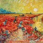 Вольная-копия-картины-Ван-Гога-красные-виноградники-в-Арле-70х90_Vinsenta-Светлана-Сычева