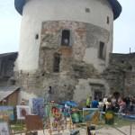 Вернiсаж 2017 в Кам`янець-Подiльскiй фортецi ,на сцене