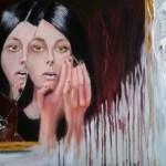 Зеркало, холст, масло, 50х70, 2016 г. Дмитрий Косариков